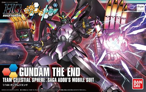 Master A 1 2 End Hgbf Gundam The End Update Box Photoreview Info