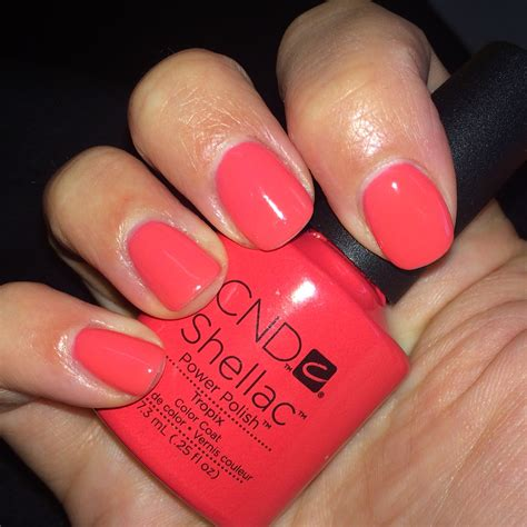 Cnd Nails by Nailsbyalexi Cnd Shellac Quot Tropix Quot Nails By Me