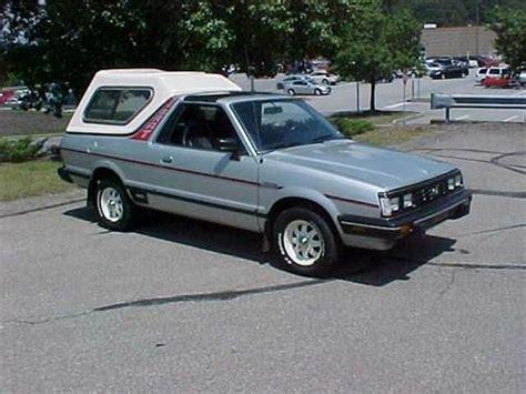 subaru brat for sale subaru brat for sale carsforsale com