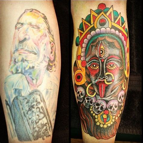 tattoo aging pictures aging color portrait tattoo covered by robert ryan