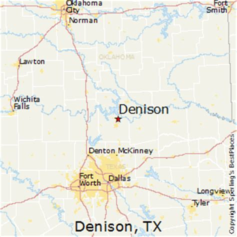 denison texas map best places to live in denison texas