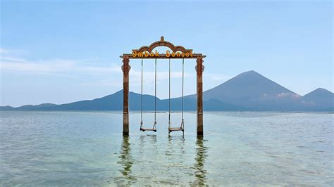 ocean swing best ocean swing in the world gili trawangan