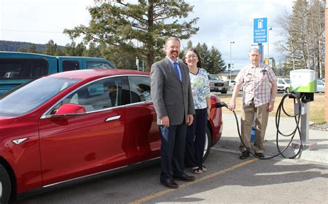 Tesla Electric Charging Stations Electric Car Charger Recieves Upgrade My Cariboo Now