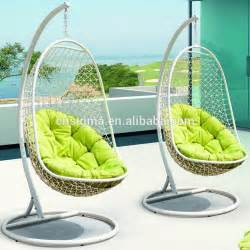 outdoor indoor swing hanging chair with stand patio swing