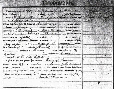 Italian Records Translation Calabrian Genealogy Records Of Italy