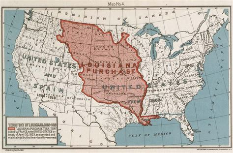 louisiana purchase map louisiana purchase map worksheet quotes