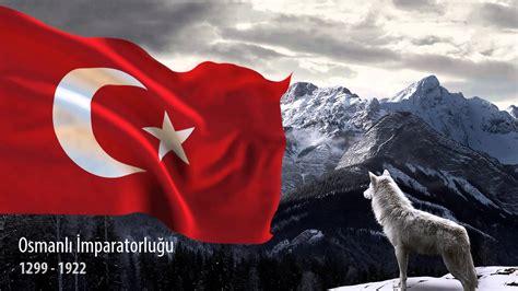 turk bayragi ve bozkurt t 252 rk devletleri 3d bayrak youtube