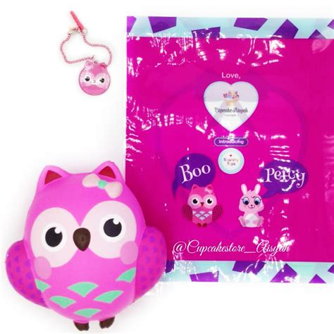Squishy Blue Big Owl Licensed By Squishy boo the owl squishy high quality and scented licensed