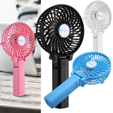 small battery powered fan mini portable outdoor foldable handheld fan