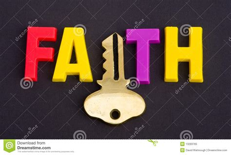 faith the faith holds the key stock image image of bible converted 13293765