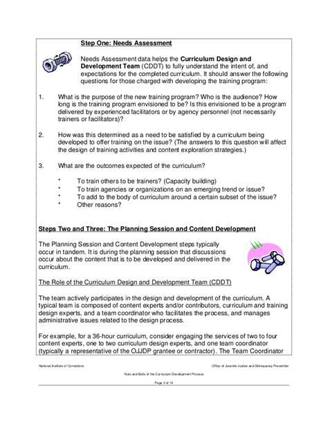 curriculum development template choice image templates