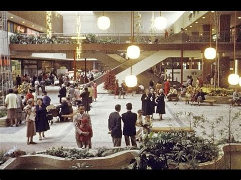best american for shopping footage from 1956 of the american shopping mall