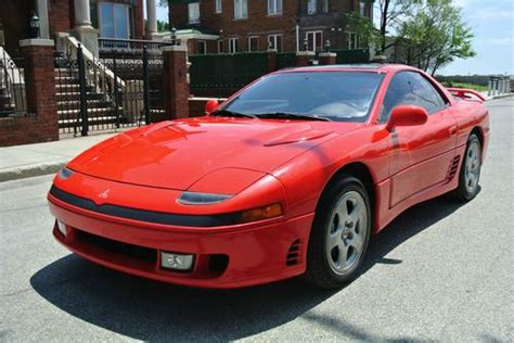 vehicle repair manual 1992 mitsubishi gto seat position control buy used 1992 mitsubishi 3000gt vr 4 awd twin turbo 5 speed coupe red black no reserve in
