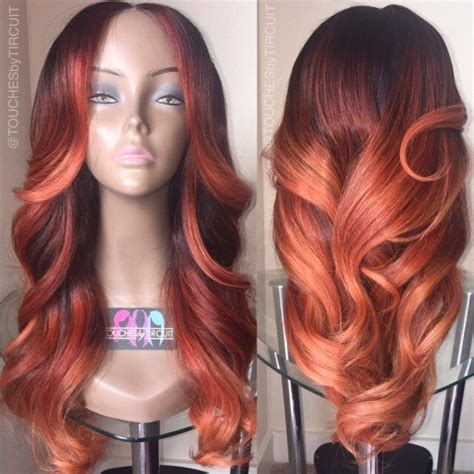 colored weave colored weave and or wig autumn haor color wig or