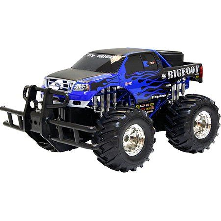 remote bigfoot truck bright big radio controlled truck