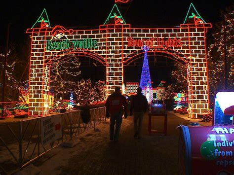 best christmas lights in mn bentleyville tour of lights