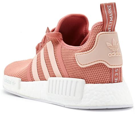 Sepatu Adidas Nmd R1 Womens Grey Pink Premium Quality adidas nmd r1 primeknit trainers in vapour pink