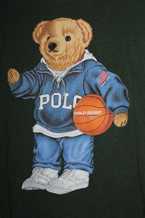 pattern teddy bear t shirt polo bear t shirt ralph lauren teddy green basketball usa