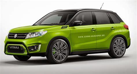 Suzuki New Suv Car Does Sports Render Prettify Suzuki S New Vitara Suv