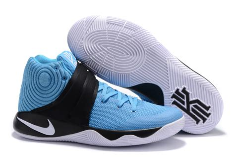 custom basketball shoes for sale blue white mens nike kyrie 2 shoes