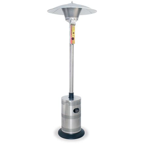 Blue Rhino 174 Endless Summer Stainless Steel Patio Heater Stainless Steel Patio Heaters
