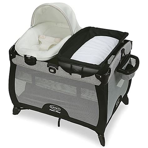 bassinet that connects to bed graco 174 pack n play playard quick connect portable napper