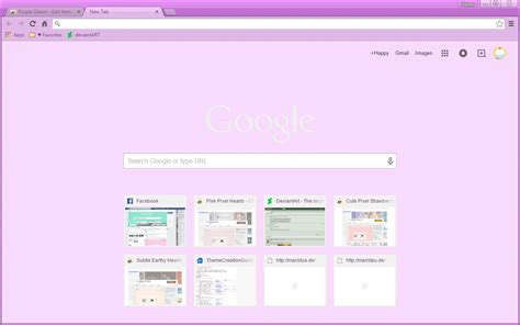 google chrome themes girly purple gleam google chrome theme by sleepy stardust on