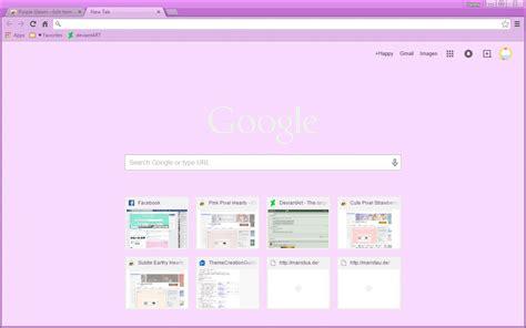 Google Chrome Themes Cute Purple | purple gleam google chrome theme by sleepy stardust on