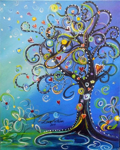acrylic tree 25 beautiful easy acrylic paintings ideas on