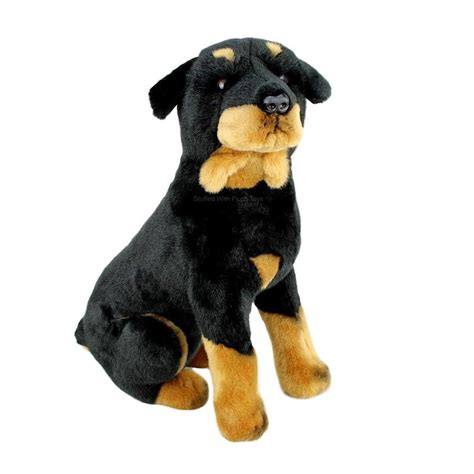 plush rottweiler rottweiler stuffed animal plush medium sitting razor bocchetta plush toys