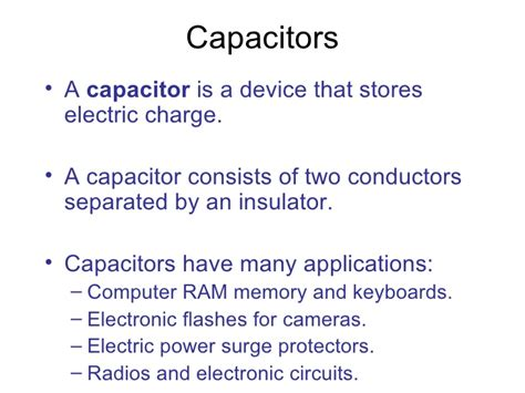 capacitor ppt capacitor ppt slideshare 28 images supercapacitors ppt hhd ppt on capacitors capacitor