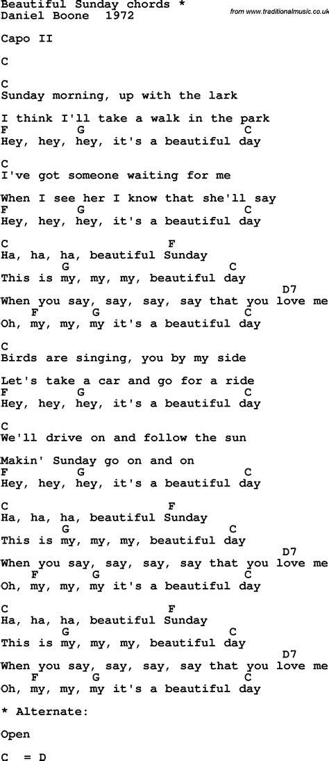 beautiful songs lyrics the 25 wonderful day lyrics