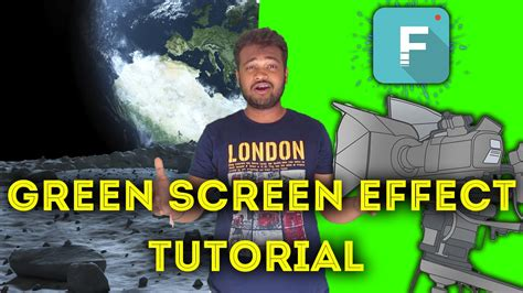 tutorial filmora green screen how to change video background green screen effect