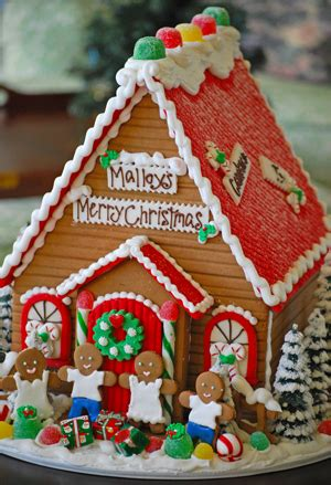 images of christmas gingerbread houses red roof colors large christmas gingerbread house the