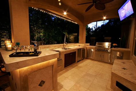 beautiful outdoor kitchens a beautiful outdoor kitchen retreat michael glassman