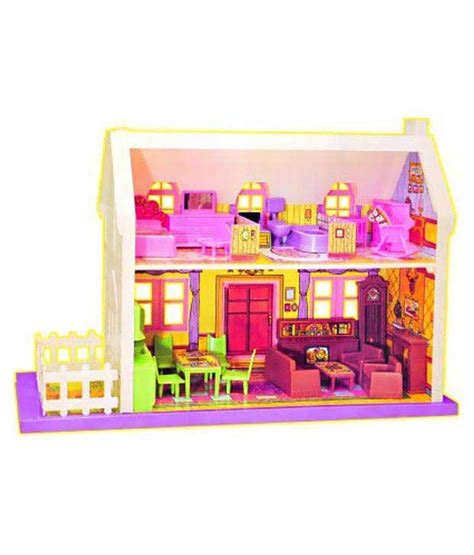barbie doll house set games multicolour plastic doll house easy mart