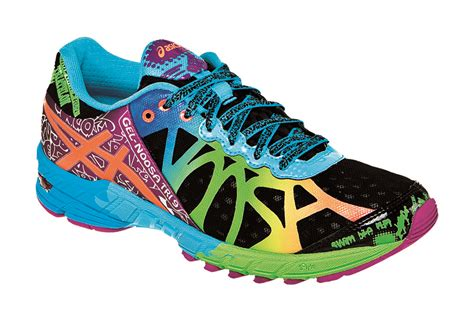 running shoes bright colors asics s gel noosa tri 9 running shoe black neon