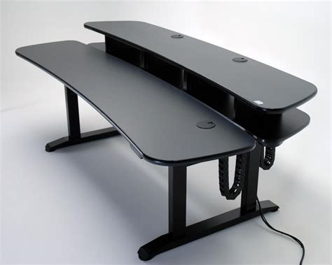 diy editing desk ergo duet dual surface height adjustable desk with