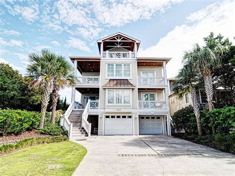 3 Dolphins Luxurious Oceanfront Home Homeaway House Rentals Wrightsville Nc