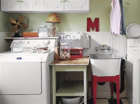 Decorating Ideas For Laundry Rooms Small Laundry Room Ideas Home Interior Design