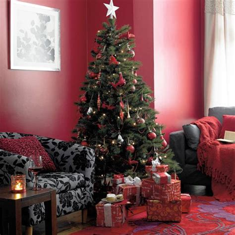 decorations antique but gorgeous country sets color beautiful christmas decor in charming old fashioned red colors