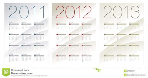 Or 2012 Free Calendar For 2011 2012 And 2013 Royalty Free Stock Photos Image 21559968