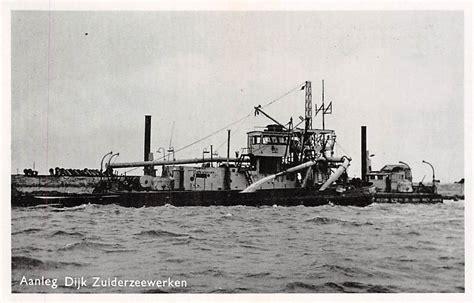 scheepvaart zuiderzee harderwijk aanleg dijk zuiderzee werken flevoland
