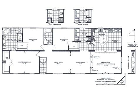 16x40 Cabin Plans by 16x40 Cabin Floor Plans