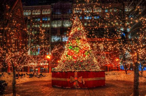 christmas lights montreal canada flickr photo sharing