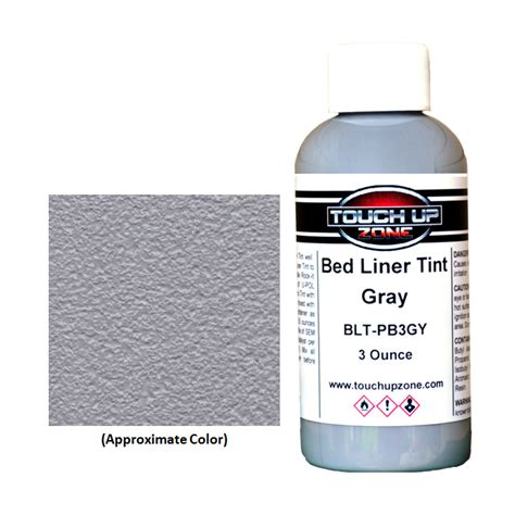gray bed liner gray bed liner tint 3 ounce bottle touch up zone