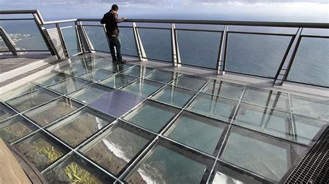 glass floor don t look down world s scariest glass floors