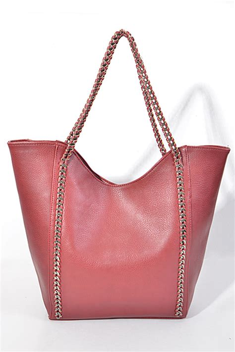 Shiny Friday As The Bag Talks Bags Sales And The Accessories by Pp6403 Shiny Chain Yet Simple Handbag Fashion Bag