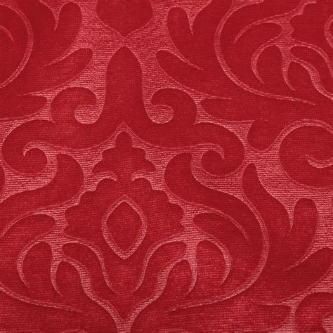 embossed velvet upholstery fabric embossed floral damask dress cushion curtain matching