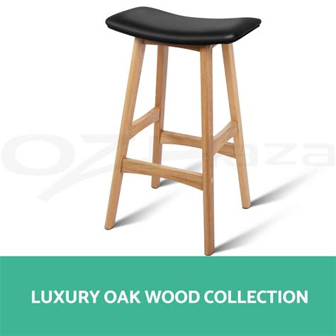 oak wood bar stools 4x oak wood bar stools wooden barstool dining chairs